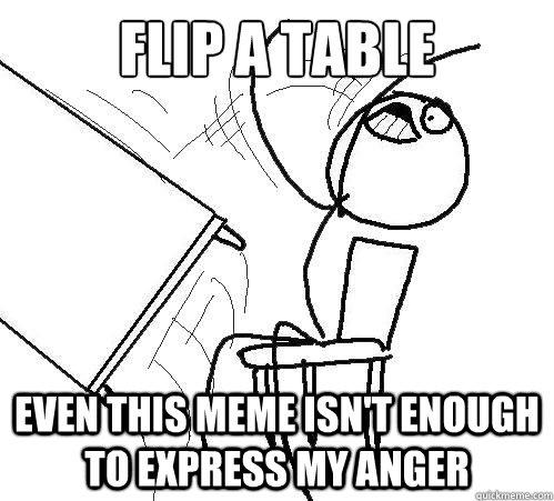 desk flipping